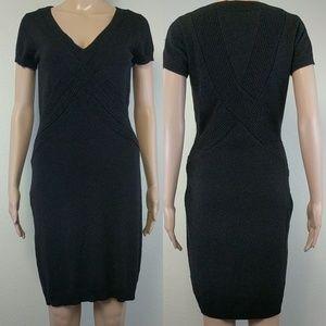 [Marc New York Andrew Marc] Knit Black Dress Small